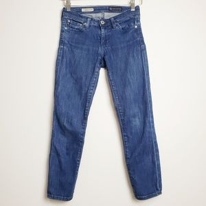 Adriano Goldschmied Super Skinny Crop Jeans